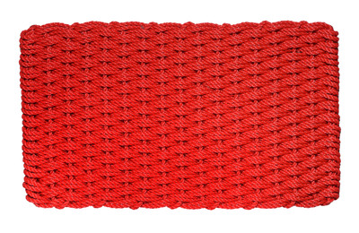 Red Basket Weave