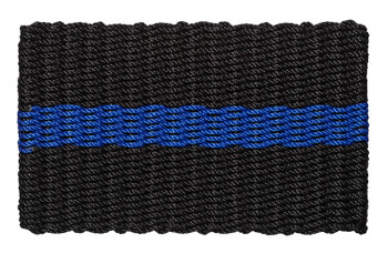 The Thin Blue Line represents the men and woman of law enforcement that stand united as a thin line that protects society from good and evil, chaos and order.   For many, the Thin Blue Line emblem shows support and solidarity for our law enforcement.