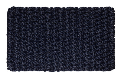 Dark Navy Basket Weave