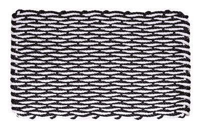 Black & White - Wave Series Doormat