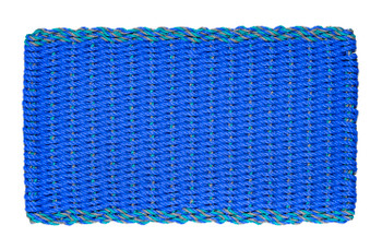 Periwinkle with blue multi color double border.
