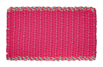 Double Border Hot Pink with pink multi color.