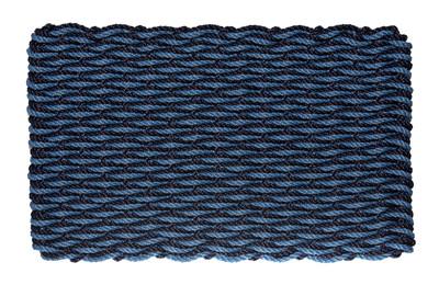 Dark Navy & Federal Blue Wave