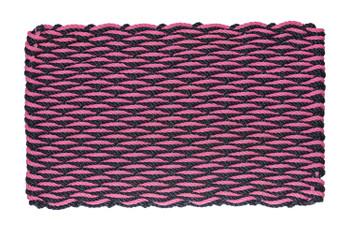 Dark Navy and Hot Pink Wave