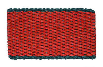 Double Border Red with Green