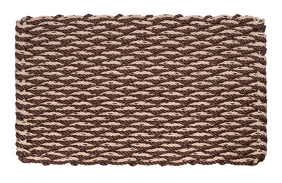 Wave Doormat - Brown & Mocha Chip