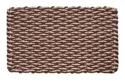 Wave Doormat - Brown & Mocha Chip