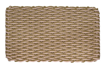 Wave Doormat - Sage & Palomino