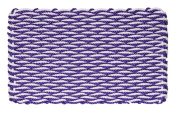 Purple & White Wave Doormat