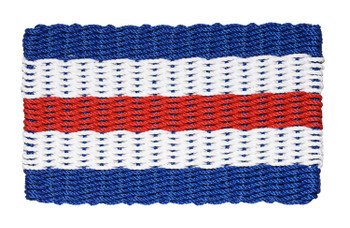 Nautical Doormat - Charlie Signal Flag