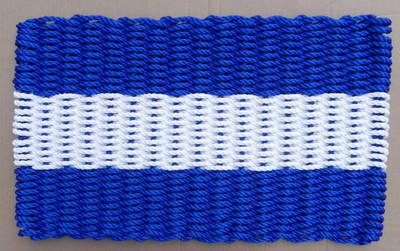 Nautical Signal Flag Doormat Juliet