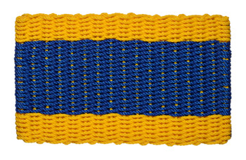 Nautical Signal Flag Doormat Delta
