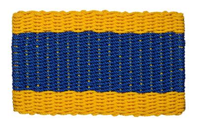 Nautical Signal Flag Doormat Delta