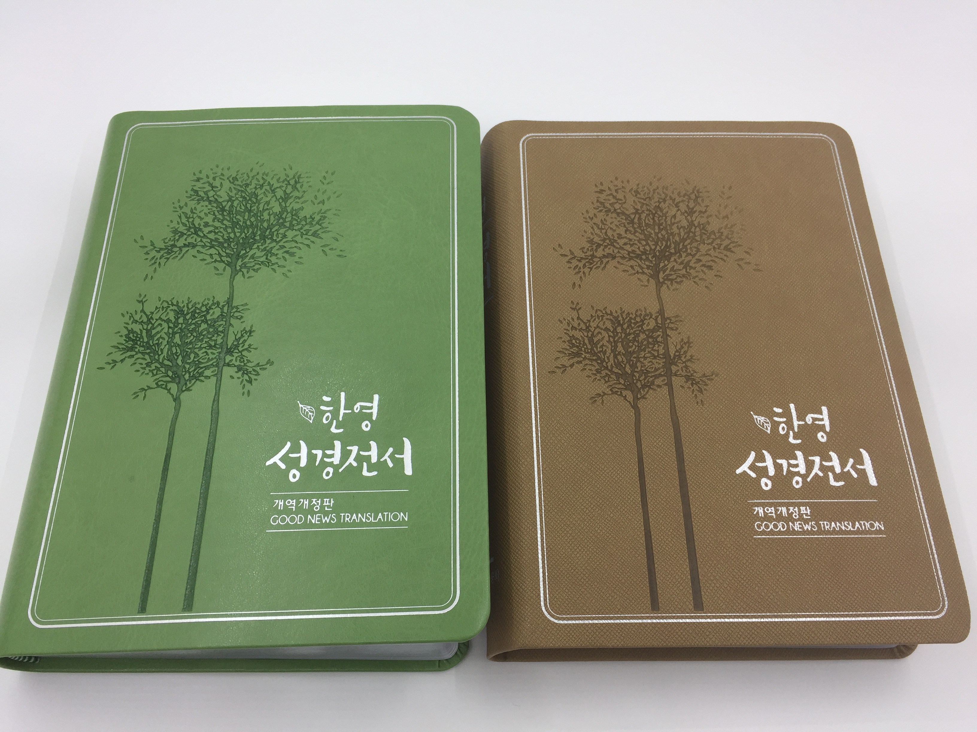 Korean-English Bible - Good news Translation  1