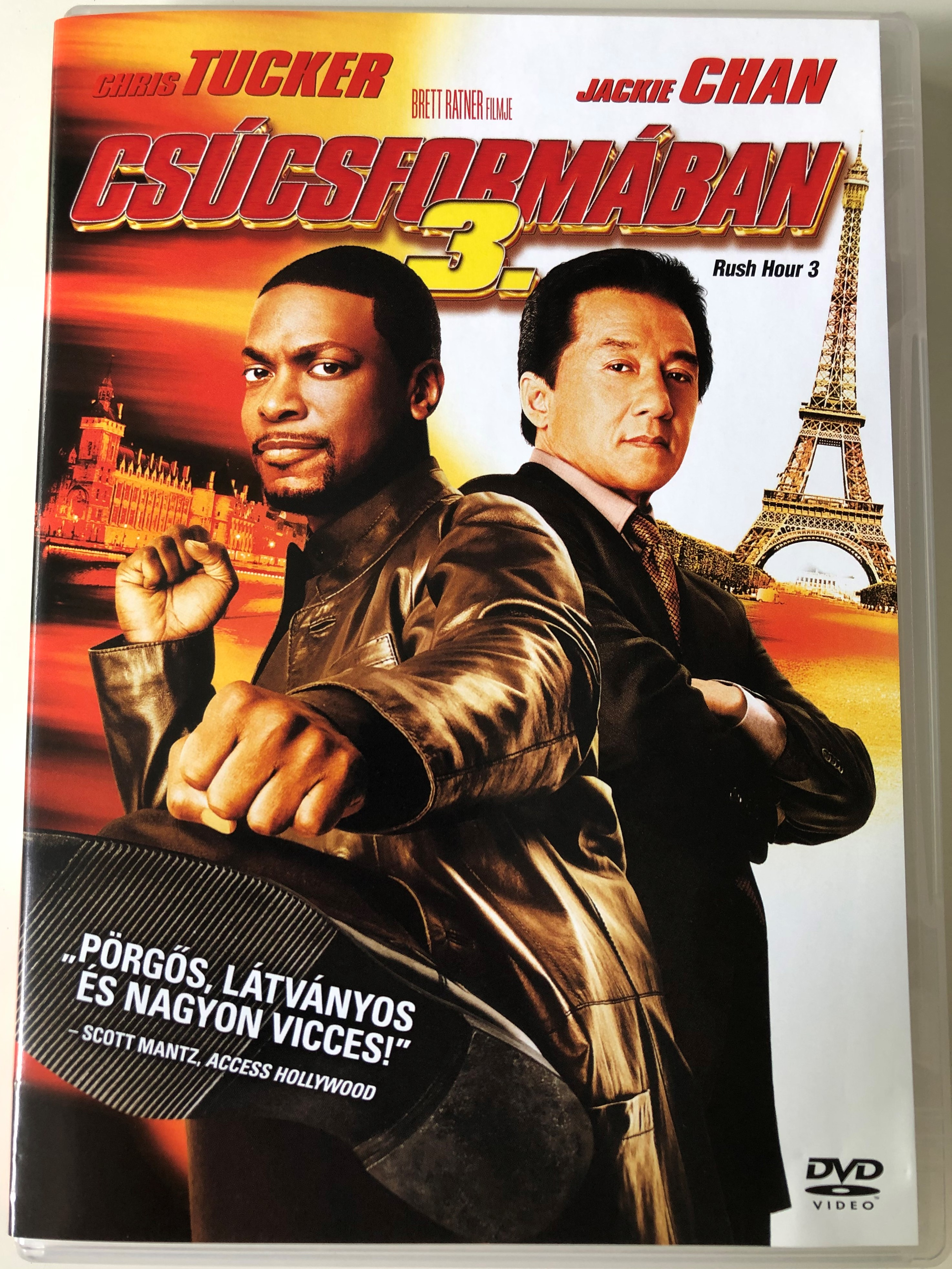 Rush Hour 3 Dvd 2007 Csucsformaban 3 Directed By Brett Ratner Starring Jackie Chan Chris Tucker Hiroyuki Sanada Youki Kudoh Max Von Sydow Bibleinmylanguage