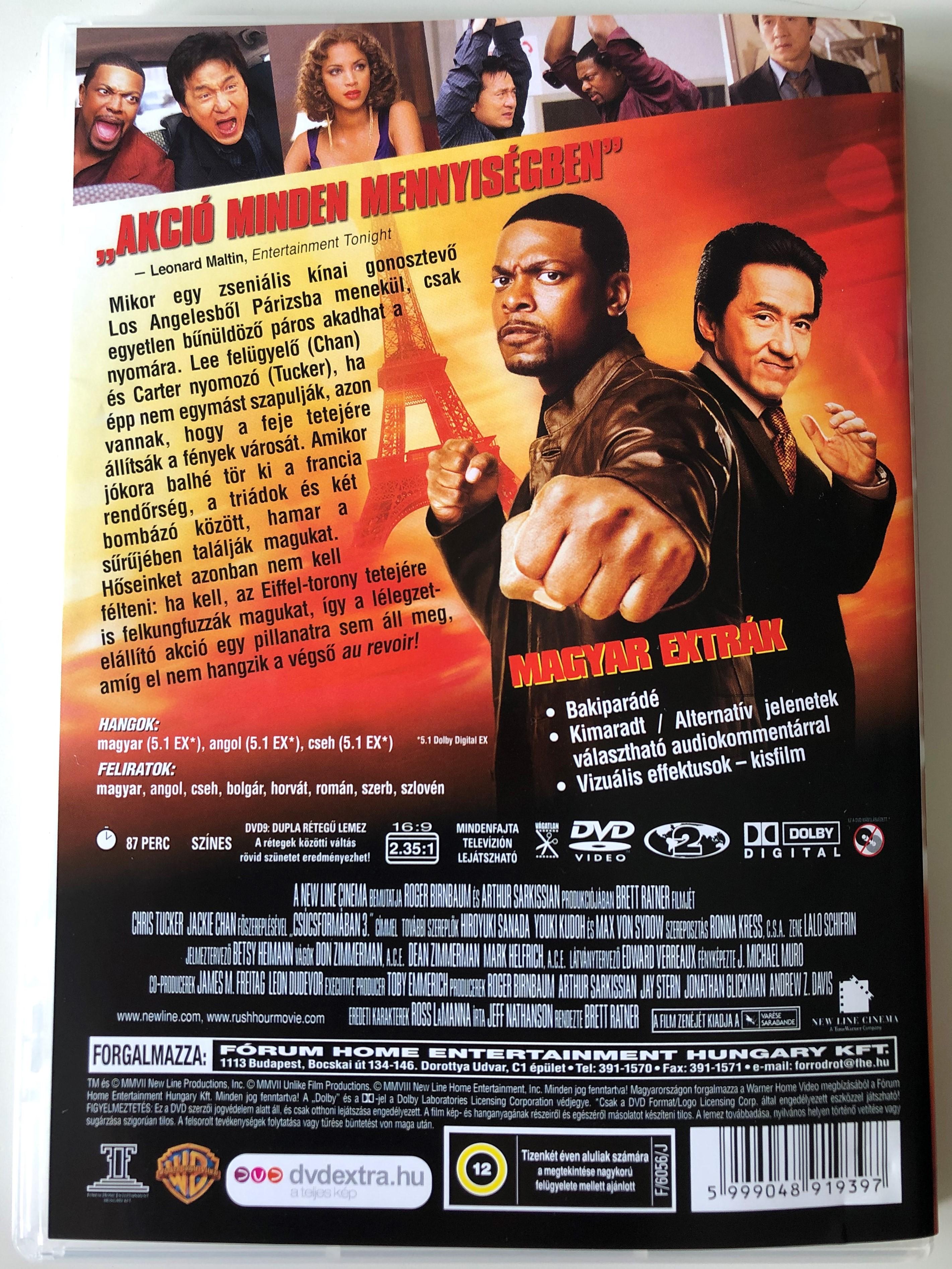 Rush Hour 3 Rush Hour 3 Jackie Chan Movies Rush Hour