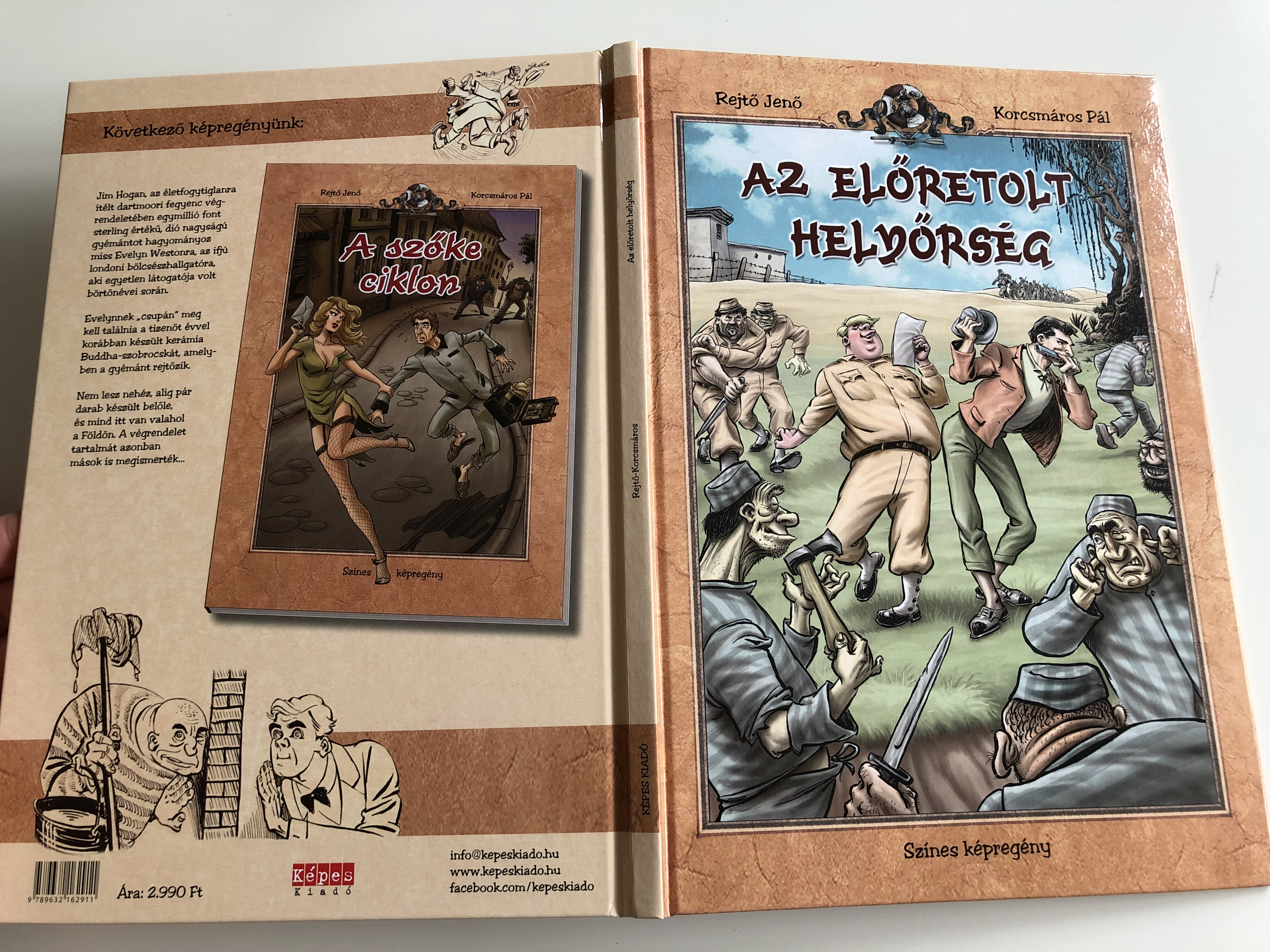 az-el-tretolt-hely-rs-g-by-rejt-jen-korcsm-ros-p-l-sz-nes-k-preg-ny-the-frontier-garrison-color-comic-book-hardcover-2013-3rd-edition-k-pes-kiad-13-.jpg