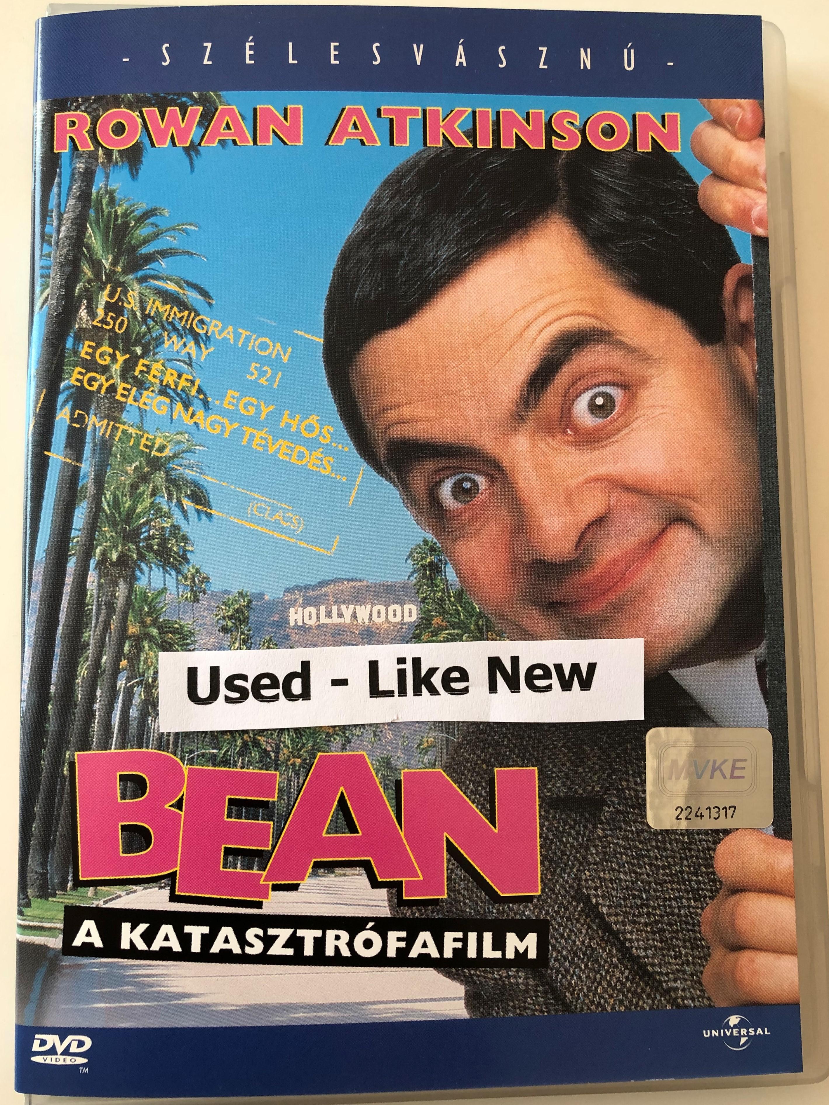 Bean Dvd 1997 Bean Az Igazi Katasztrofafilm Directed By Mel Smith Starring Rowan Atkinson Peter Macnicol Pamela Reed Harris Yulin Bibleinmylanguage