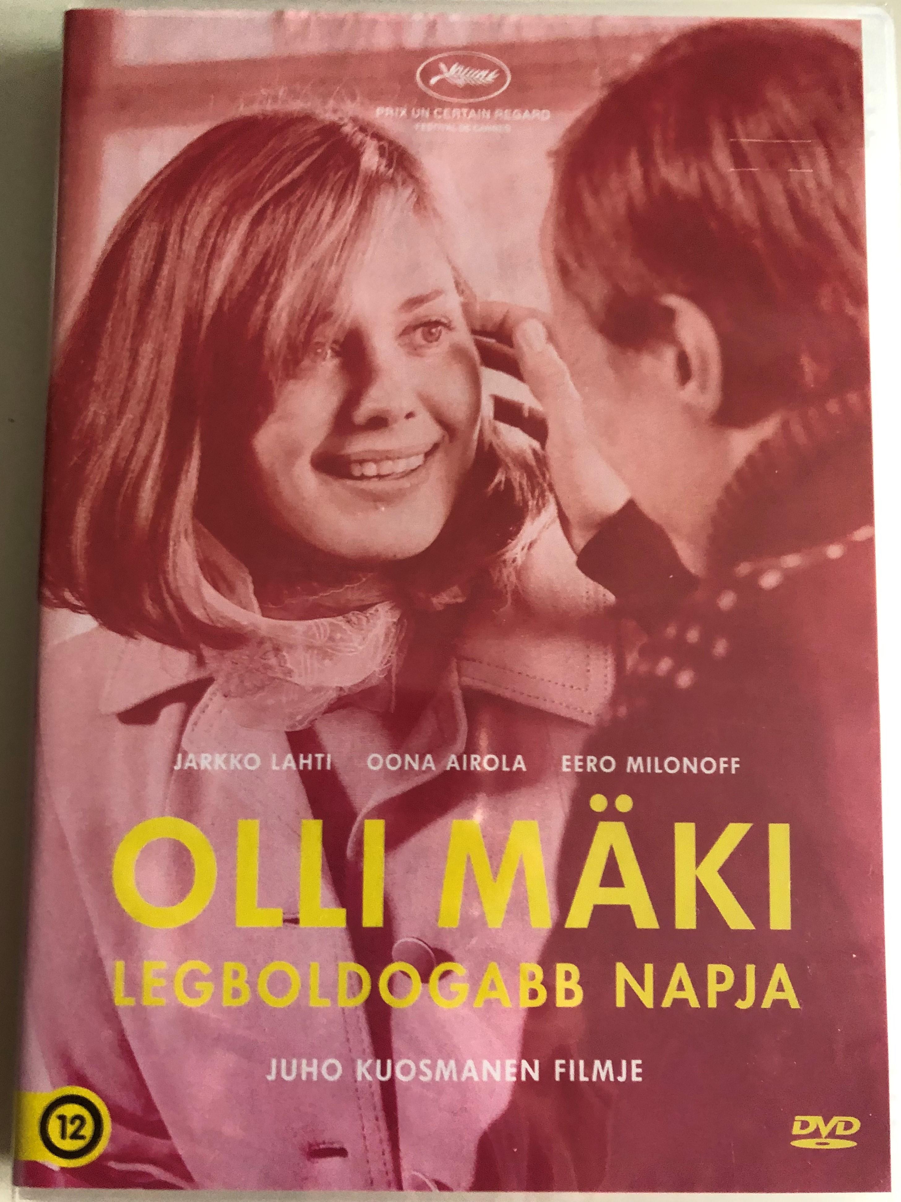 Hymyilevä mies DVD 2016 Olli Mäki legboldogabb Napja (The Happiest Day in the Life of Olli Mäki) / Directed by Juho Kuosmanen / Starring: Jarkko Lahti, Oona Airola, Eero Milonoff