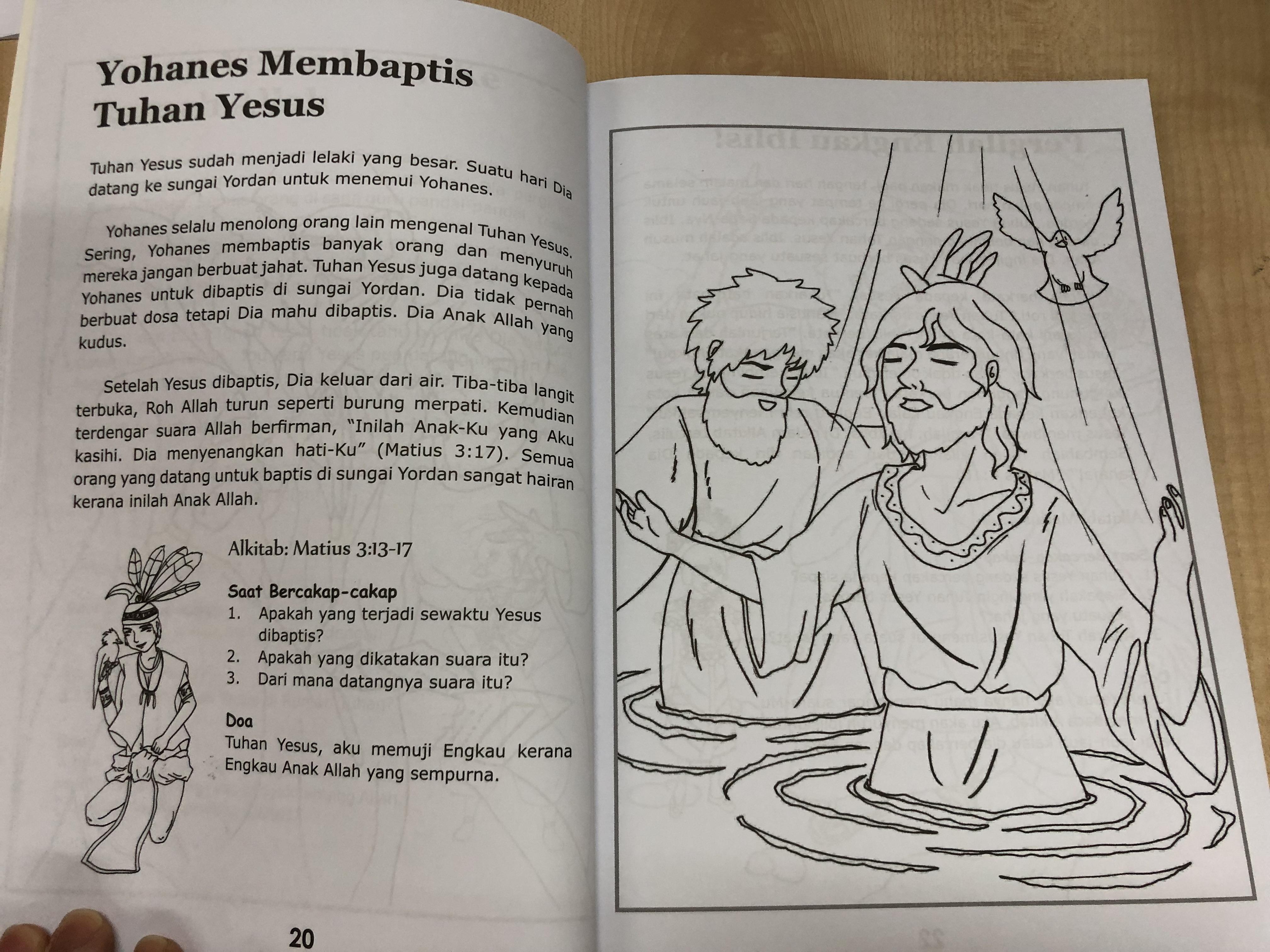 Pelita Untuk Kaki Kaki Kecil Lamp Unto Small Feet Bible Stories For Children In Malay Language With 72 Coloring Pages Evelyn Tan Hwee Yong