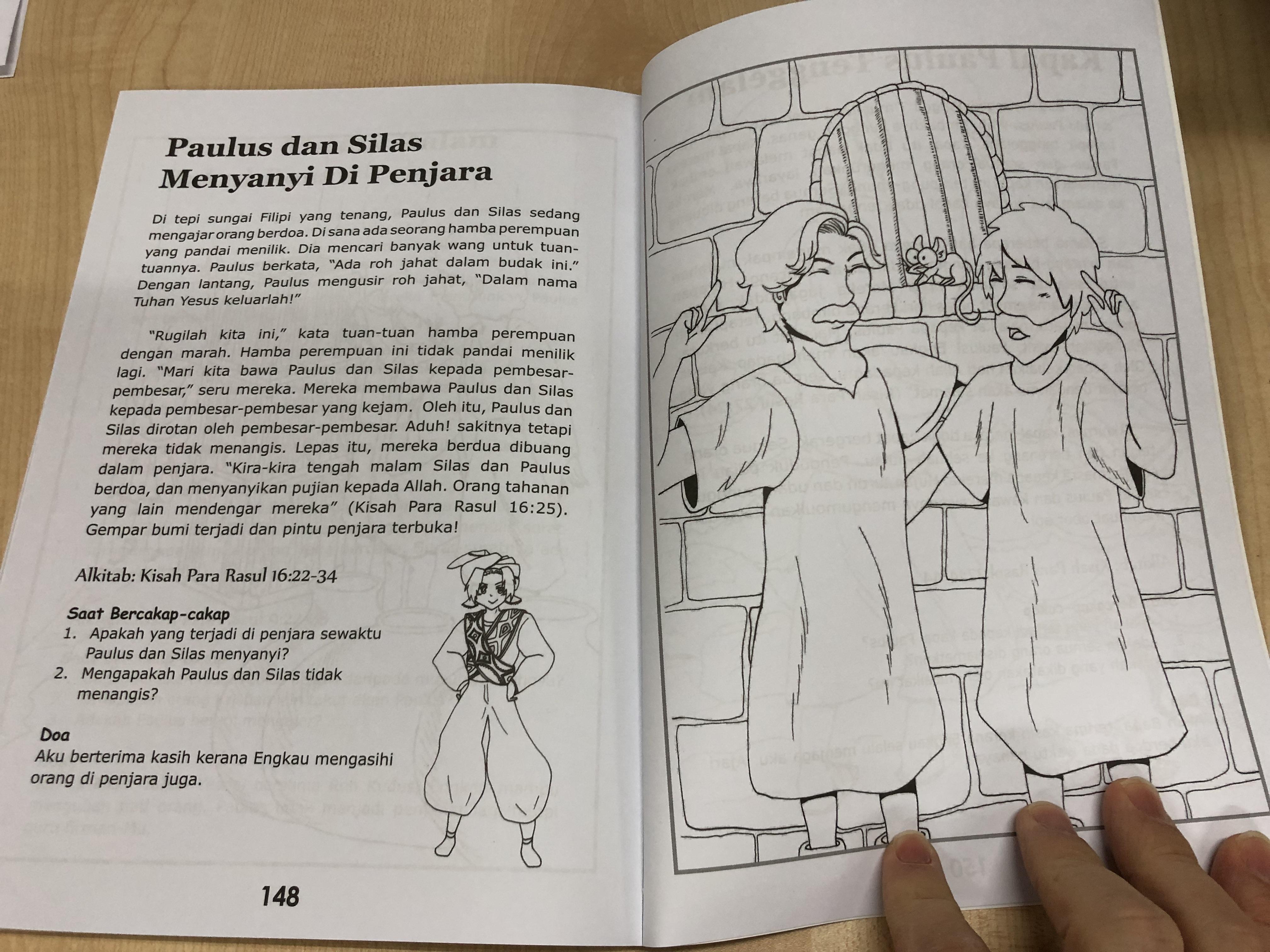 Pelita Untuk Kaki Kaki Kecil Lamp Unto Small Feet Bible Stories