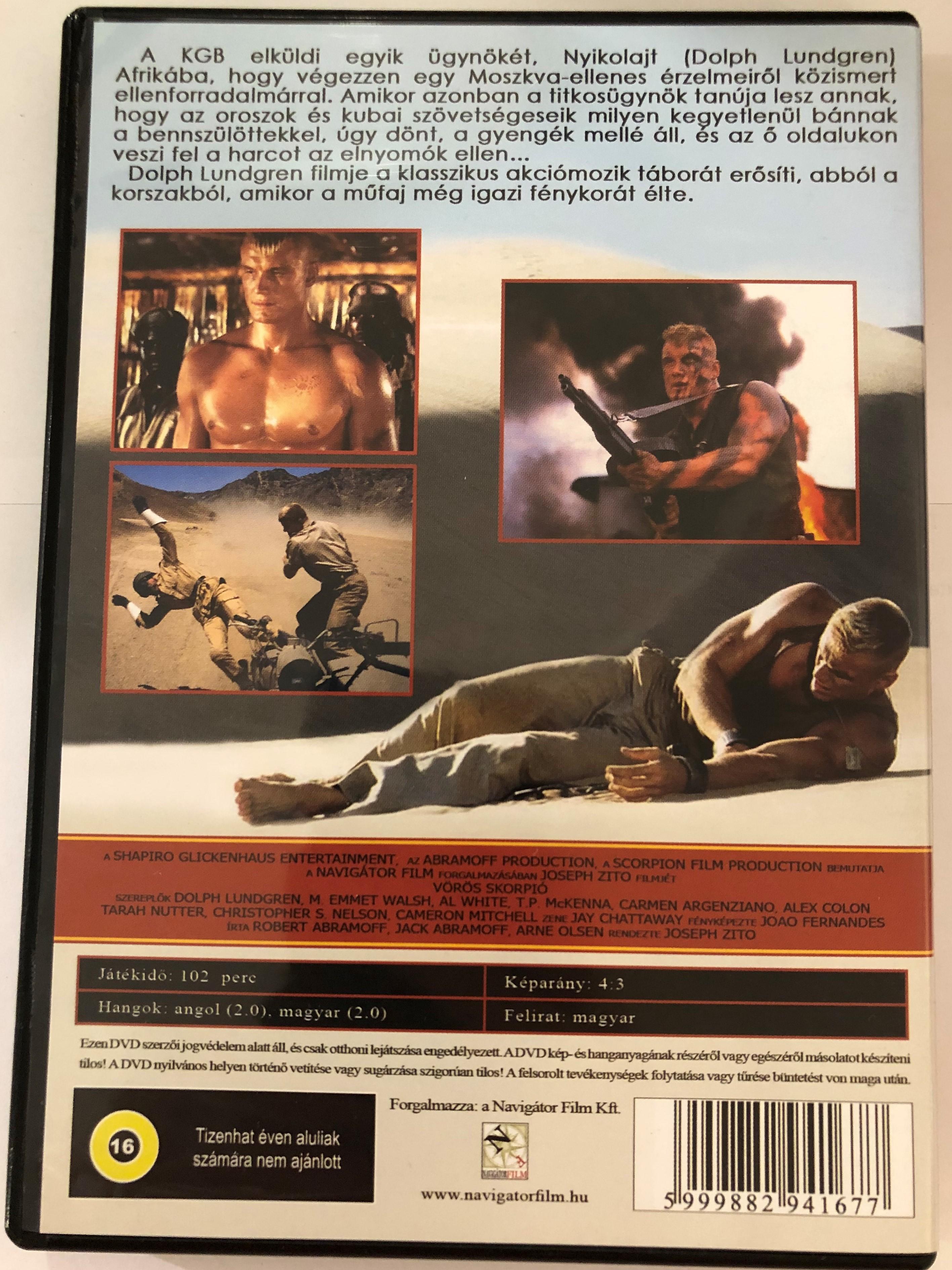 Red Scorpion (1989) Dolph Lundgren Lt. Nikolai Rachenko