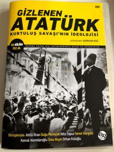 Gizlenen Atatürk - Kurtuluş Savaşının İdeolojisi DVD 2017 Atatürk - The Ideology of the Independence War / Directed by Serkan Koç / 4th edition (9786056528033)