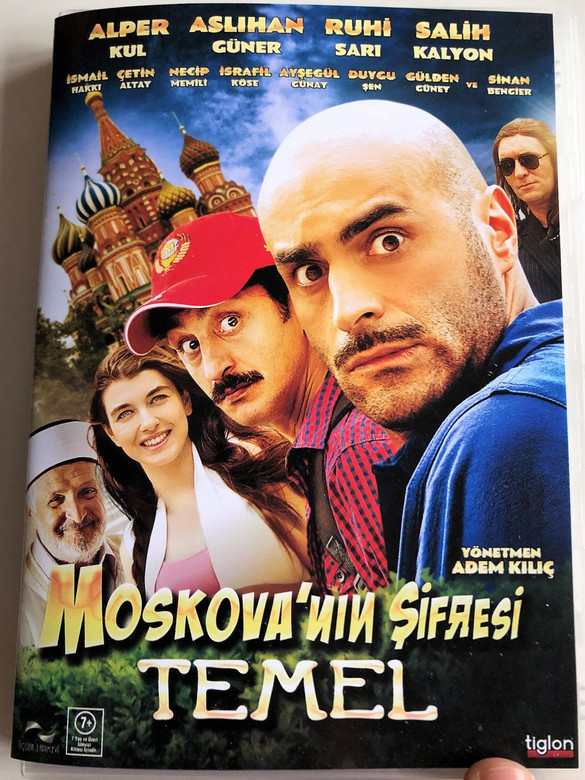 Moskova'nın Şifresi: Temel DVD 2012 Moscow Code / Directed by Adem Kiliç / Starring: Alper Kul, Aslıhan Güner, Ruhi Sarı, Salih Kalyon (8697333002430)