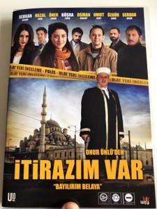 İtirazım Var DVD 2014 I have an objection / Directed by Onur Ünlü / Starring: Serkan Keskin, Hazal Kaya, Öner Erkan, Büşra Pekin, Osman Sonant (8680891103190)