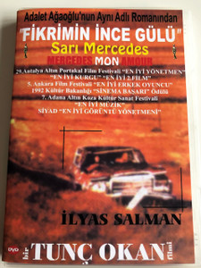 Fikrimin İnce Gülü DVD 1993 Yellow Mercedes / Directed by Tunç OKAN / Starring: İlyas SALMAN, Valeria LEMOINE, Mickey SEBASTIAN, Serra YILMAZ (8697441016589)