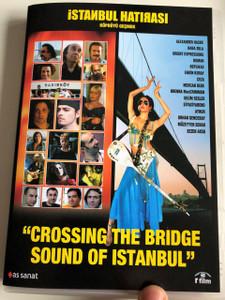İstanbul Hatırası DVD 2005 Crossing the Bridge - Sound of Istanbul / Directed by Fatih Akın / Documentary / A journey through the music scene in modern Istanbul (8698907304868)