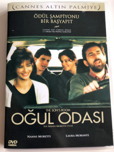 Oğul Odası DVD 2001 The Son's Room / Directed by Nanni Moretti / Starring: Nanni Moretti Laura Morante (8693040300616)
