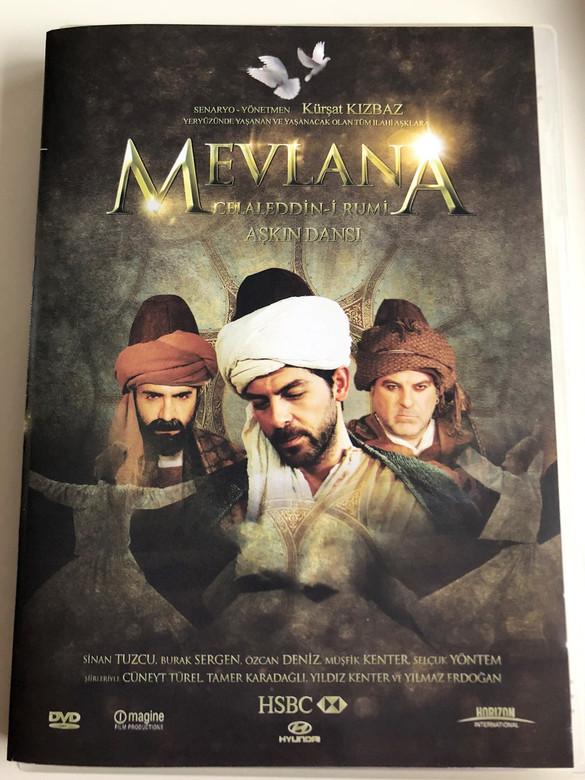 Mevlana Celaleddin-i Rumi Aşkın Dansı DVD 2008 Rumi: Dance of Love / Directed by Kürşat Kizbaz / Starring: Sinan Tuzcu, Burak Sergen, Özcan Deniz (8694977608592)
