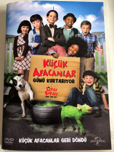 Küçük Afacanlar Günü Kurtarıyor DVD 2014 - The Little Rascals Save the Day / Directed by Alex Zamm / Starring: Doris Roberts, Greg Germann, Lex Medlin, Valerie Azlynn, Jet Jurgensmeyer (8698907302628)