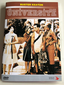 Üniversite DVD 2009 College (1927 classic) / Directed by James W. Horne, Buster Keaton / Starring: Buster Keaton, Ann Cornwall, Harold Goodwin (8697492768246)
