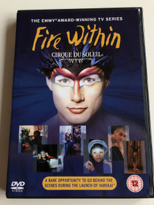 Cirque Du Soleil DVD 2002 The Fire Within / Directed by Lewis Cohen / The Complete TV series / 3 Disc SET (5035822583931)