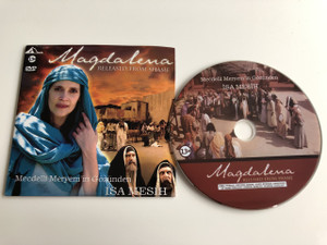 Mecdelli Meryem'in Gözünden İsa Mesih DVD 2007 Magdalena Released from Shame / Directed by Charlie Brookins Jordan / Starring: Brian Deacon, Rebecca Ritz, Gigi Orsillo, Shira Lane