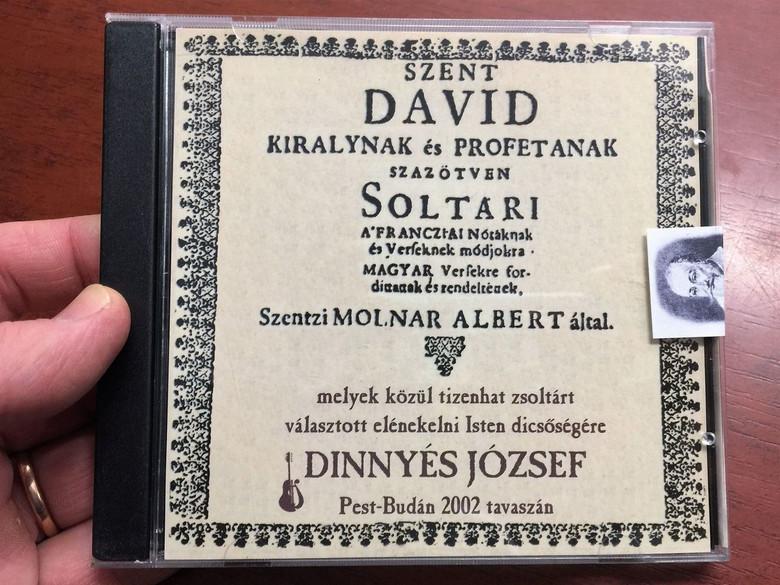 Tizenhat Zsoltár / Sixteen Psalms / Dinnyés József / Hungarian CD 2002 (DJ2002-03)