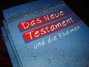 German New Testament and Psalms / Das Neue Testament und die Psalmen