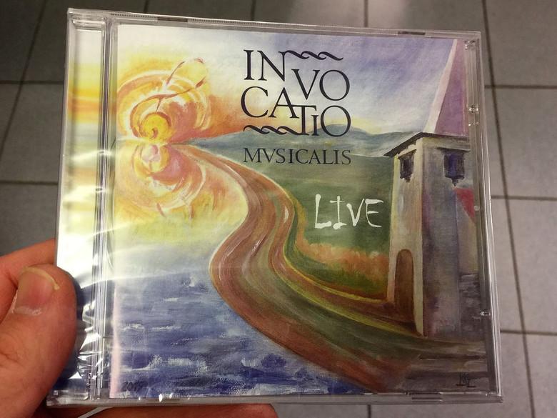 Invocatio Musicalis Live / Kollár Attila (Solaris) / Hungarian CD 2015 / BGCD 226 (5998272703192)
