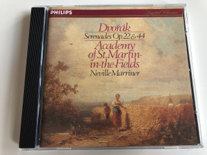 Dvořák Serenades Op. 22 & 44 Academy Of St. Martin-In-The-Fields Neville Marriner / Audio CD 1981 / Digital Classics / Antonín Dvořák (028940002021)