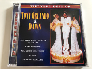 The very Best of Tony Orlando & Dawn / Pop Classic / Tie a Yellow Ribbon 'Round the Ole Oak Tree, Knock Three times, What are you doing sunday, Candida, (You've Got) Personality / Audio CD 1997 (5998490701093)