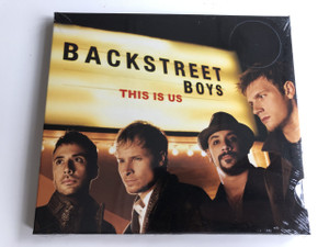 Backstreet Boys ‎– This Is Us / AUDIO CD 2009 / AJ McLean, Howie Dorough, Nick Carter, Kevin Richardson, and Brian Littrell: an American vocal group (886975839421)