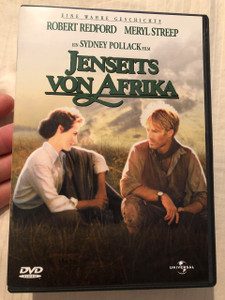 Jenseits Von Afrika DVD 1985 Out of Africa / Directed by Syndey Pollack / Starring: Robert Redford, Meryl Streep (5050582047028)