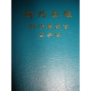 Chinese Pocket New Testament With Psalms and Proverbs / Words of Christ In Re...