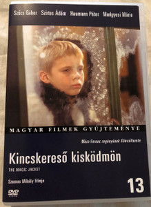 Kincskereső Kisködmön DVD The Magic Jacket / Directed by Szemes Mihály / Starring: Szűcs Gábor, Bihari József, Gruber István / Móra Ferenc regénye alapján / Magyar Filmek gyűjteménye (2016) (5999546331172)