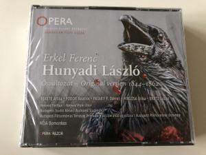 Erkel Ferenc: Hunyadi László / Audio CD / Opera négy felvonásban - Ősváltozat 1844-1862 / Opera in Four Acts - Original version 1844-1862 (5999883909058)