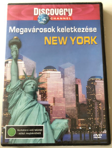 Megavárosok keletkezése - New York DVD 2003 We built this City - New York / Discovery Channel Series / Produced and Directed by Alexander Marengo / (5998282103524)