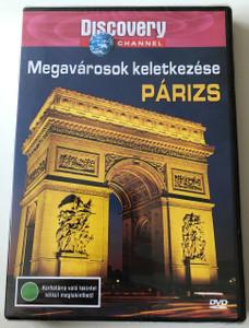 Megavárosok keletkezése - Párizs DVD 2003 We built this City - Paris / Discovery Channel Series / Produced and Directed by Jeremy-Llewellyn-Jones (5998282103517)