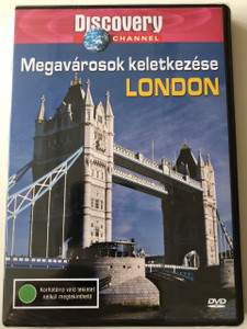 Megavárosok keletkezése - London DVD 2003 We built this City - London / Discovery Channel Series / Produced and Directed by Paul Burgess (5998282103500)
